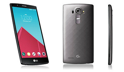 NEW T-MOBILE UNLOCKED LG G4 H811 32GB Metallic Gray 4G LTE Android Smartphone