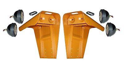 Flat Top Fenders W Lights Case Ih 806 826 856 1026 1206 1256 1456 Tractor