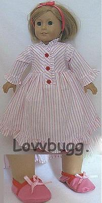"Lovvbugg Nightgown Set for 18"" American Girl Kit Thirties or Modern Doll Clothes"