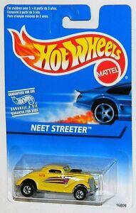Hot Wheels 1/64 Neet Streeter Black Walls Diecast Car Yellow