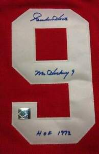 "Gordie Howe ""Mr. Hockey"" Autographed old school sweater jersey Regina Regina Area image 3"