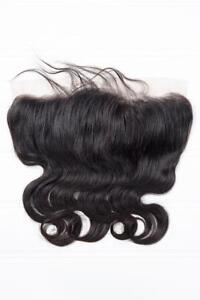 Body Wave Virgin Brazilian Frontal #NATURAL (8A) FOR SALE!!!
