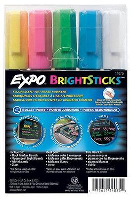 Expo Brightsticks Fluorescent Markers Bright Sticks New