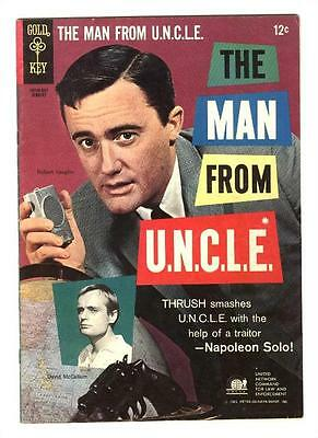 Man From Uncle 4  Vf   The Rip Van Solo Affair  Free Shipping With Bin