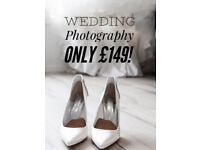 Wedding Photography - FULL DAY ONLY £149! NO HIDDEN CHARGES - INC. Meeting before & ALL Images!!!!!