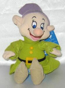 Disney Plush Dopey Figure Snow White and Seven Dwarfs New