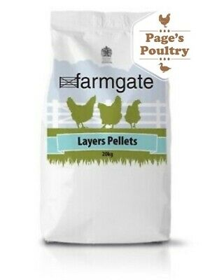 Farmgate Layers Pellets Poultry Chicken Hen Duck & Geese Feed/Food 20kg