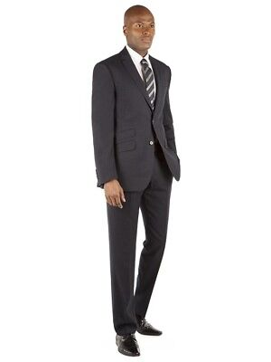 Racing Green Navy Flannel Tailored Fit Suit TD079 QQ 04