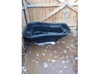 Ridgid pond liner 250 litres