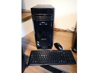 Powerful GAMING PC - TC-780 Intel i7-7700 256GB SSD - 3TB HDD 16GB RAM