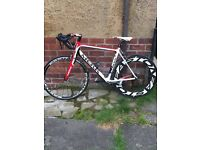 mekk carbon fibre road race bike