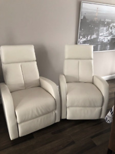 Fauteuils inclinables/pivotants (2) Set of Rotating Recliners