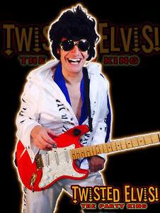 Twisted Elvis 'The Party King' - birthdays/events/telegram/shows Edmonton Edmonton Area image 4