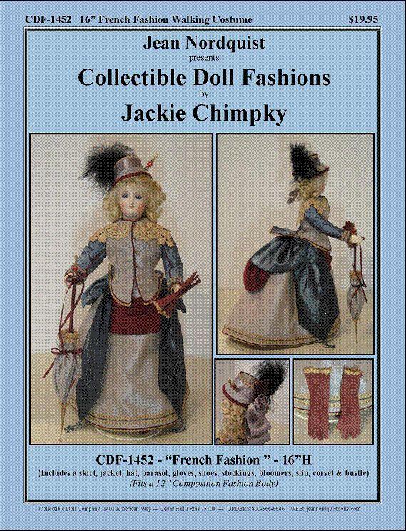 "CDF1452 16"" French Fashion Costume"
