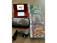 Nintendo DS I complete console with 3 games and charger