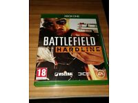 Battlefield Hardline Xbox 1 game VGC with manual