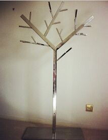 Silver clothes tree from Dwell