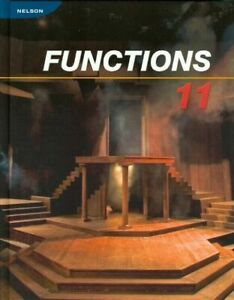 Nelson Functions 11 Textbook and ANSWERS
