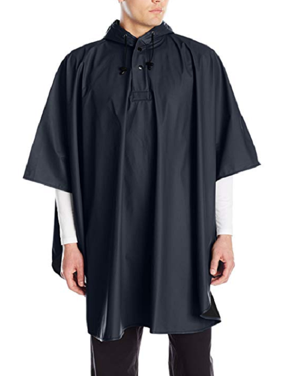 Charles River Men's Pacific Poncho Navy One Size Outdoor Rec
