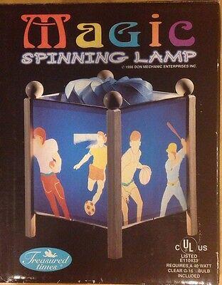 (Magic spinning lamp ( sports))
