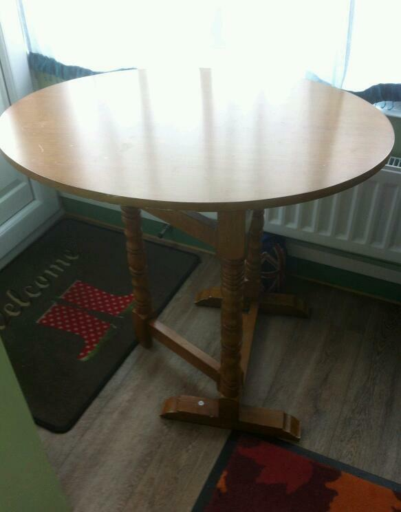 Fold Away Table In Hemlington North Yorkshire Gumtree