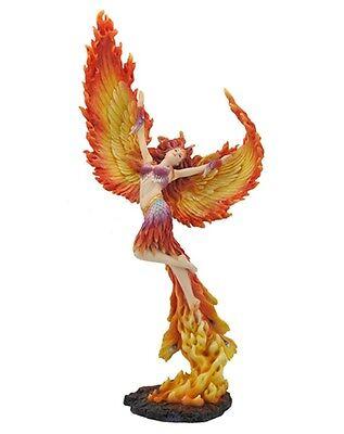 """17.5"""" Lady Phoenix Fantasy Decor Statue Sculpture Figure Figurine"""