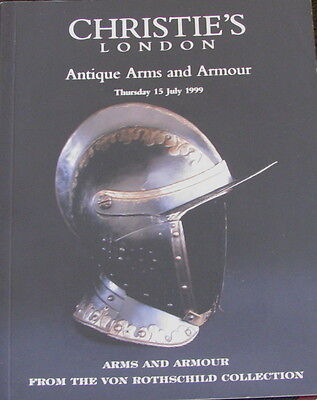 CHRISTIE'S Antique Arms and Armour from the Von Rothschild Collection ((RARE))