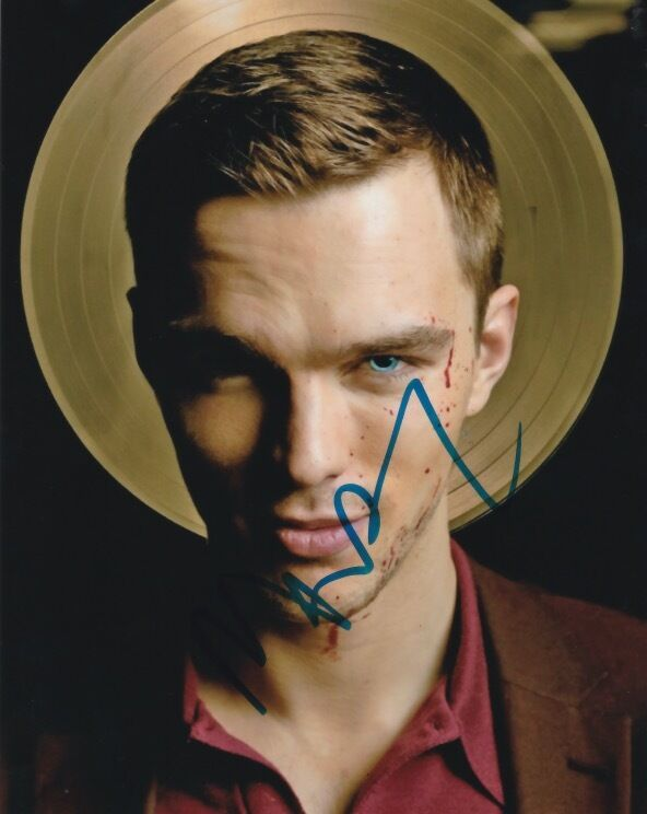 Nicholas Hoult Kill Your Friends Autographed Signed 8x10 Photo COA C