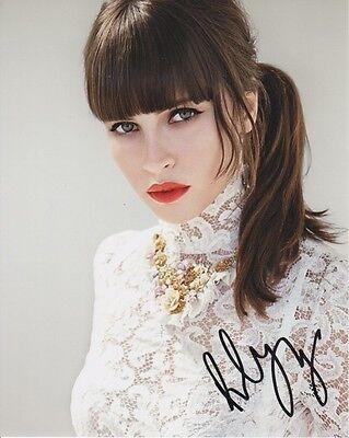 Felicity Jones Sexy Autographed Signed 8X10 Photo Coa  7