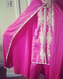 Fuschia Pink Moroccan Dress