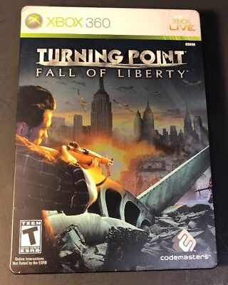 Turning Point Fall of Liberty [ Collector's Edition STEELBOOK ] (XBOX 360) USED for sale  Sweet Grass