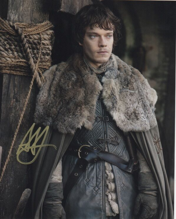 Alfie Allen Game of Thrones Autographed Signed 8x10 Photo COA #A4