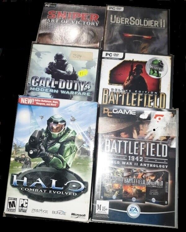 Computer Games - PC GAMES / IBM COMPATIBLE - RETRO / OLD COMPUTER GAMES / VINTAGE