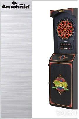 Arachnid Cricket Pro 650 Electronic Dartboard Cabinet w/ FREE Shipping
