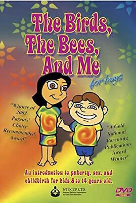 Bird Movie For Kids (Birds, Bees And Me: For Boys - DVD - Multiple Formats Animated Color Ntsc)