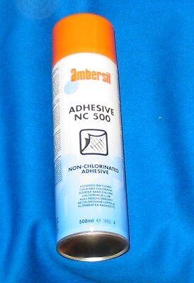 Pool Table Spray Adhesive Ambersil NC500 ml can Cloth to slate fitting Glue