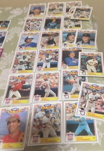 20 All Star Baseball Cards All Different Years - High Book Value