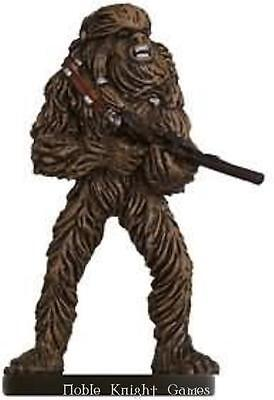 WOTC Star Wars Minis Force Unleashed Wookiee Warrior NM
