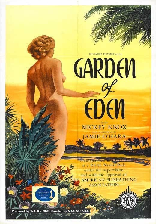GARDEN OF EDEN Movie POSTER 27x40 B Jamie O