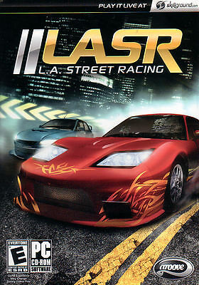 LASR L.A. Street Racing LA Groove Sim PC Game NEW BOX