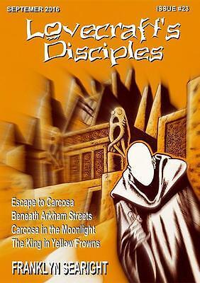 188 LOVECRAFT'S DISCIPLES #23 Rainfall chapbook. H. P. Lovecraft/Cthulhu Mythos