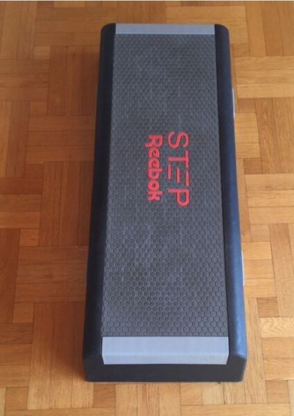 reebok stepper aerobic fitness steppbrett in bayern. Black Bedroom Furniture Sets. Home Design Ideas
