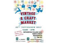 Christmas Vintage and Craft Market - 25th November