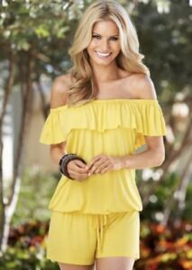 Venus Yellow Romper NEW!