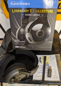 PS4 Legendary Collection Sound of Justice True Wireless Headset