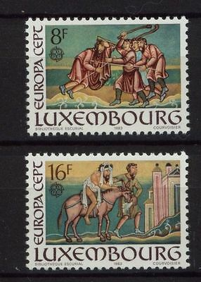 Luxembourg 1983 Europa CEPT MNH Set