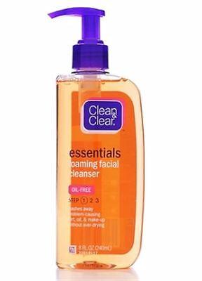 Clean & Clear Essentials Foaming Facial Cleanser Oil-free, 8
