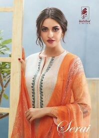 SAHIBA SERAI WHOLESALE LUXURY SALWAR KAMEEZ COLLECTION IN TEXTILEDEAL.IN