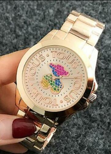 $7.86 - New Design Watches Fashion Luxury Women Ladies Quartz Electronic Bear Watch CA