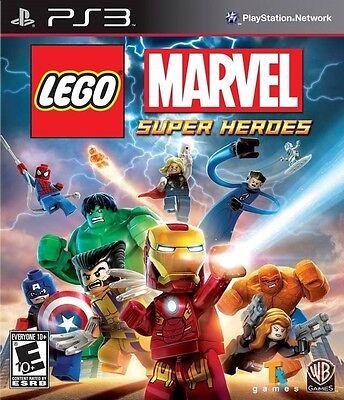 Lego Marvel Super Heroes   Playstation 3 Game